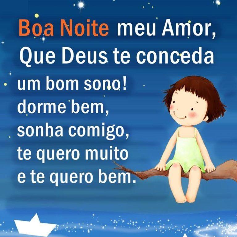 Boa Noite Meu Amor Durma Bem Boa Noite Amor Frases De Boa