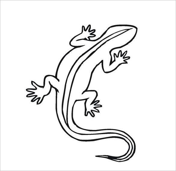 20 Lizard Templates Crafts Colouring Pages Coloring Pages