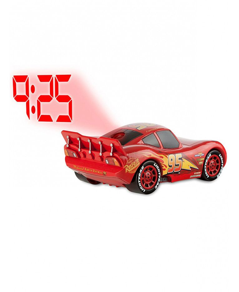 This Cool Disney Cars Lightning Mcqueen Projection Alarm Clock