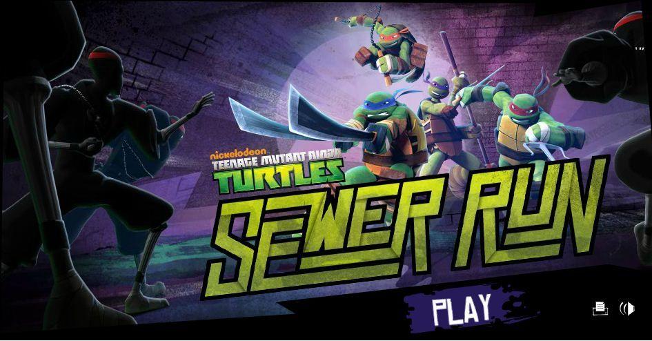 Play Teenage Mutant Ninja Turtles Sewer Run Game Online Ninja Turtles Teenage Mutant Ninja Turtles Teenage Mutant