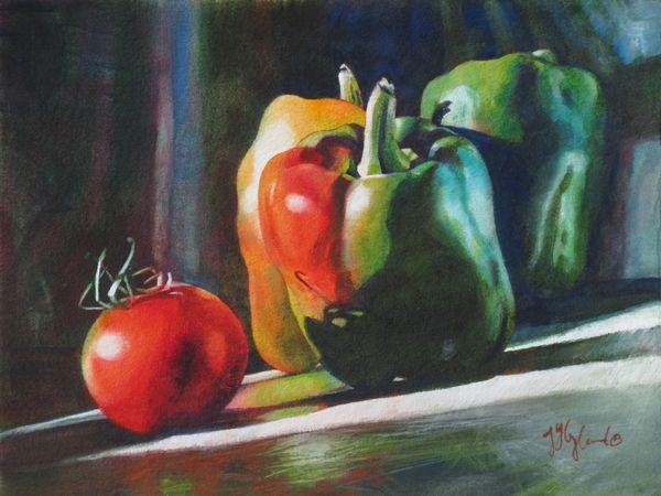 Watercolor Still Life Paintings Jeanne Hyland Artist