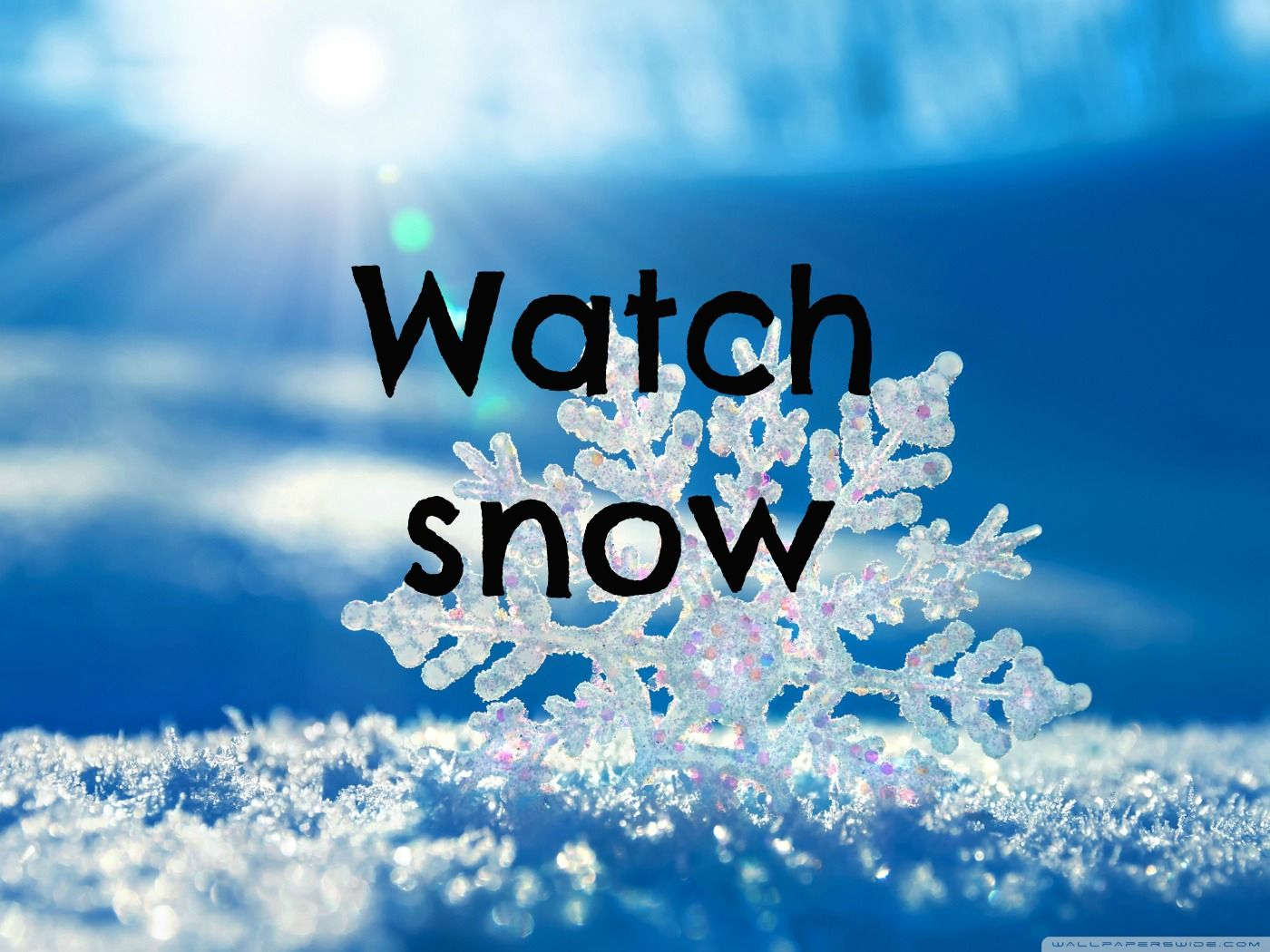 Snowflake Love Quotes Anywhere If I Watch Snow I Will Be Happy  For My Life