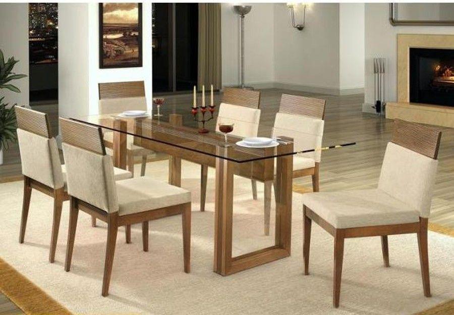 Moveis De Sala De Jantar Em Uba Mg ~ móveis sala de jantar  mesa tampo de vidro  Uberlândia (Minas