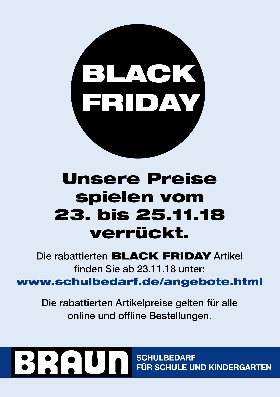 Braun Schulbedarf Für Schule Und Kindergarten Unser Black Friday