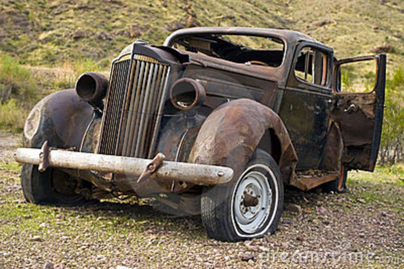 old rusted cars Google Search Abandoned cars
