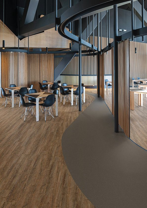 office dining area featuring affinity255 wood effect vinyl