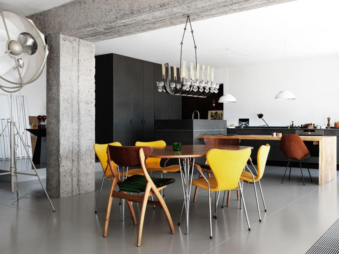 Black minimalist bedroom grey dark minimalist interior chairs