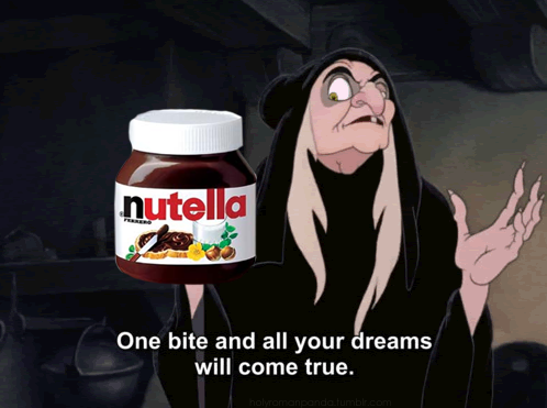 Add Nutella instead of baking cinnamon rolls and never go back.