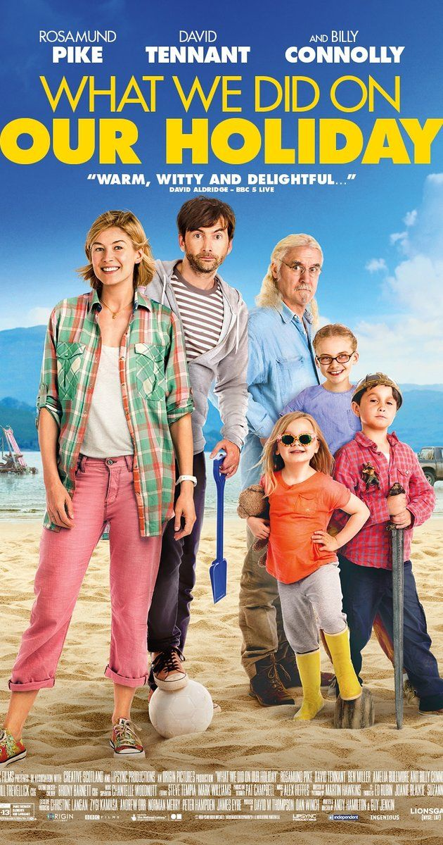 What We Did On Our Holiday 2014 Holiday Movie Rosamund Pike Good Movies