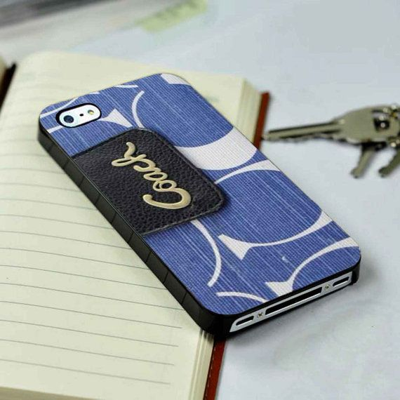 Coach Chelsea Wallet Blue inspired Case for iPhone 4/4S iPhone 5/5S/5C and Samsung Galaxy S3/S4/S5