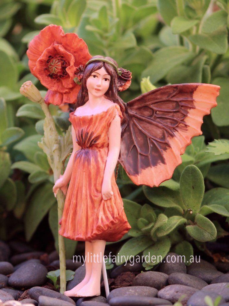 Poppy Flower Fairy Cicely Mary Barker Do You Believe In Fairies