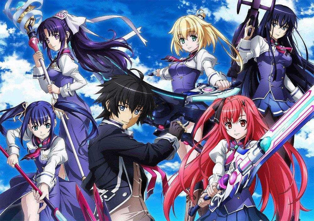 THE SIXTY FOURTH WIZARD Sky wizards academy, Anime