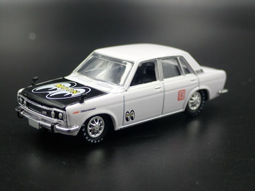 1967-1972 DATSUN 510 BLUEBIRD RARE 1:64 SCALE COLLECTIBLE DIECAST MODEL CAR