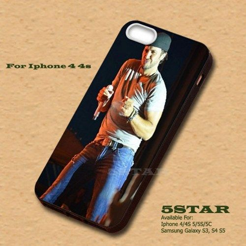 singer Popular Luke Bryan Hard Case for iPhone 4 4s | 5STAR - Accessories on ArtFire