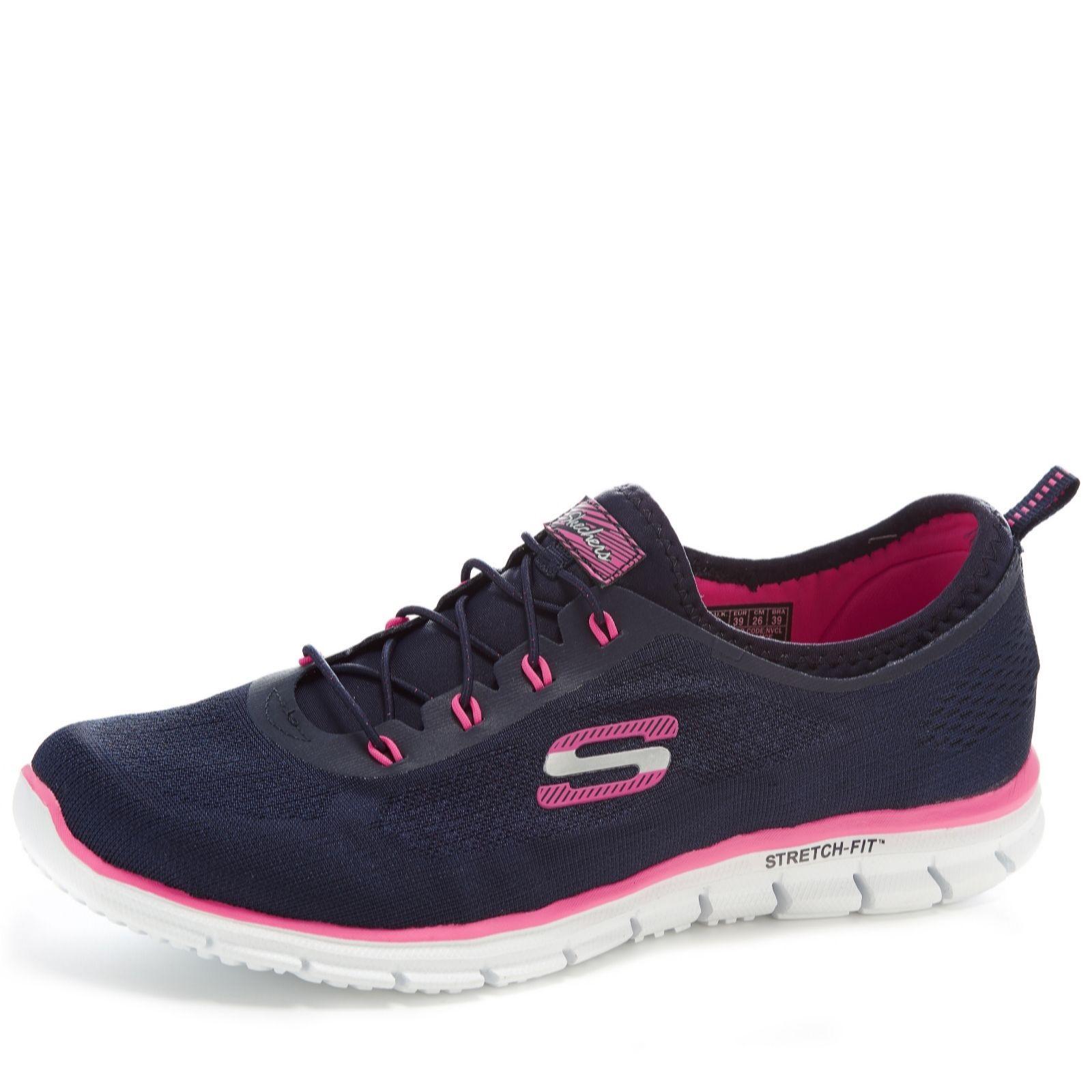 skechers ladies pink trainers