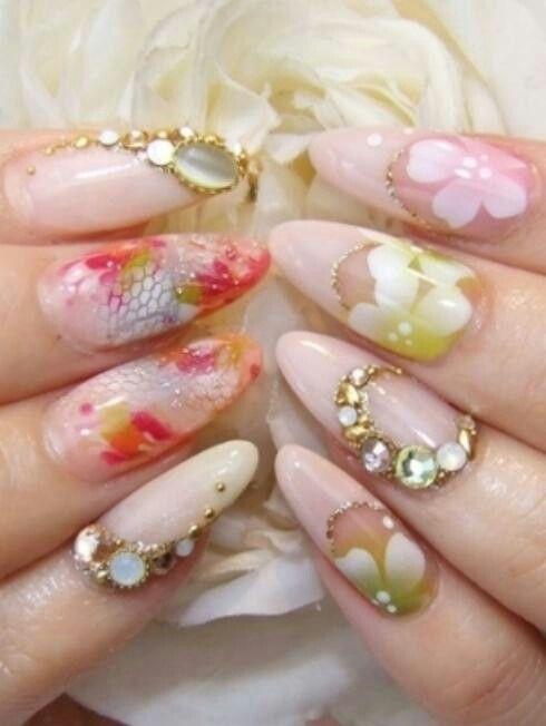 Florescent Nails Pinterest