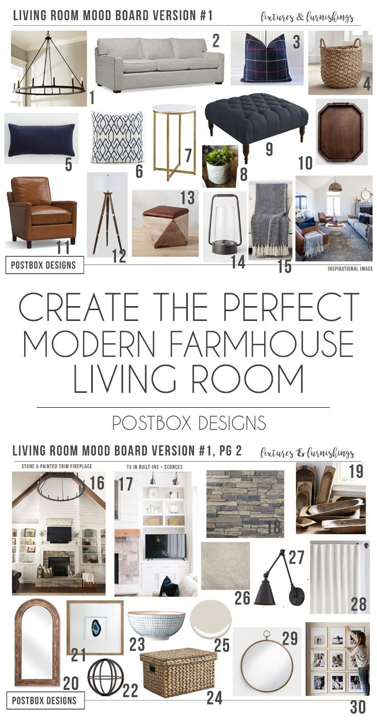 Photo of Modern Farmhouse Living Room for Just $1200!