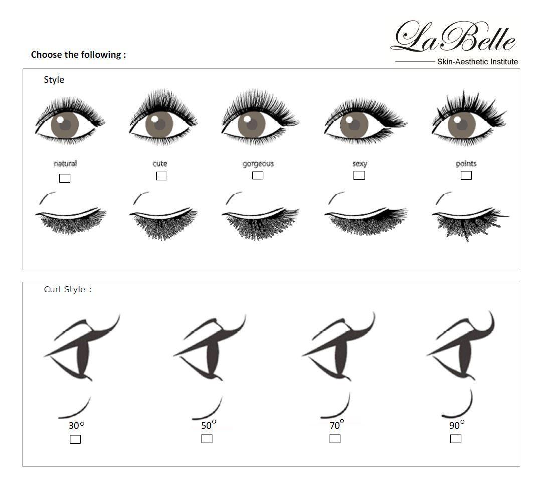 Types of eyelash extensions, photo 97