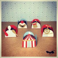 Forminhas circo