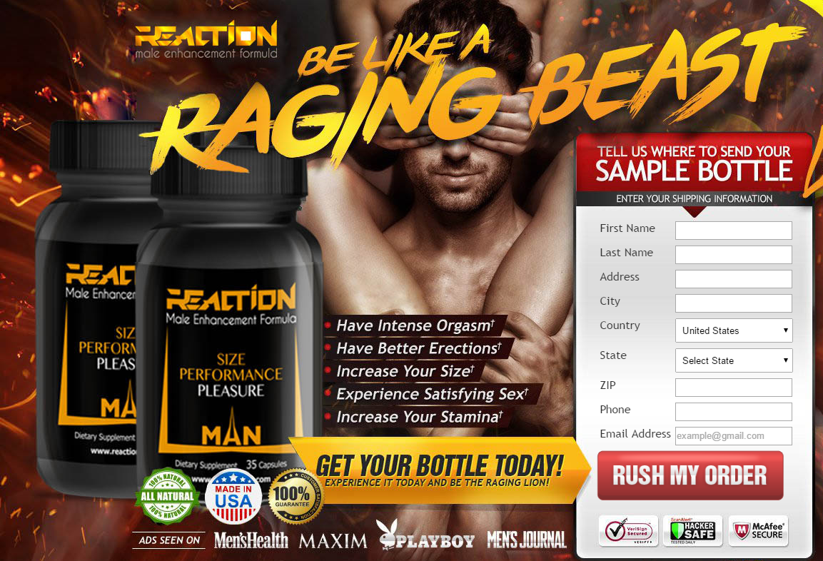 Reaction Male Enhancement Could Be A Reasonably A Male Enhancement Resolution Which Is Accou Male Enhancement Enhancement Pills Male Enhancement Pills Reviews
