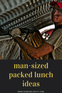 Man-sized packed lunch ideas images