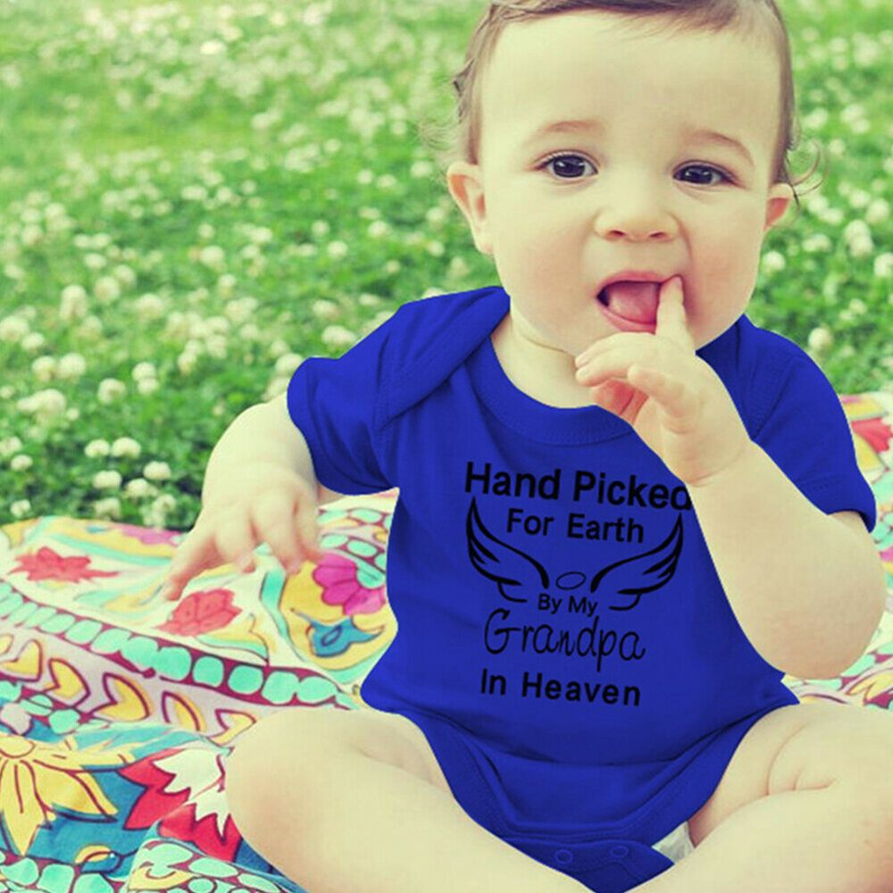Newborn Baby Toddler Boy Girl Bodysuit Romper Jumpsuit Outfits Summer Clothes