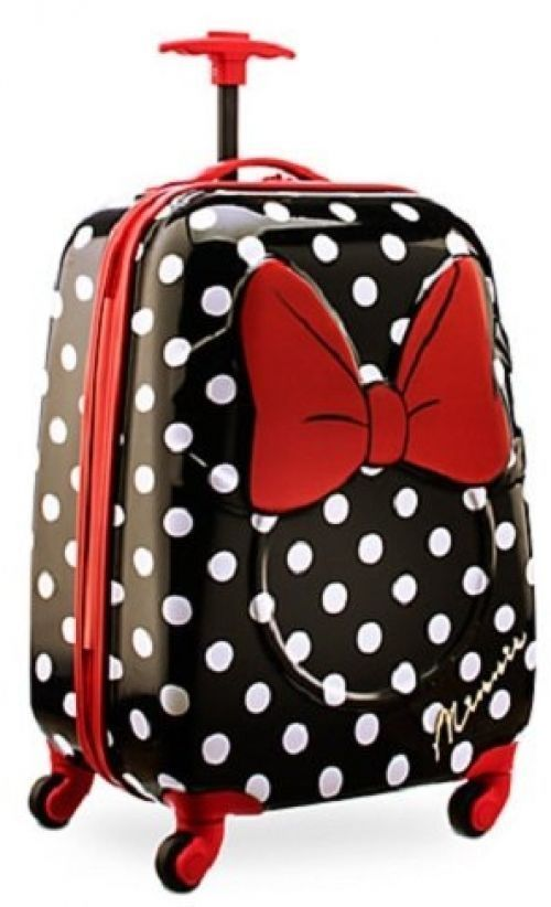 Disney Minnie Mouse Rolling Luggage Carry On 21 Kids Travel Suitcase  Disney 7085a84dff6
