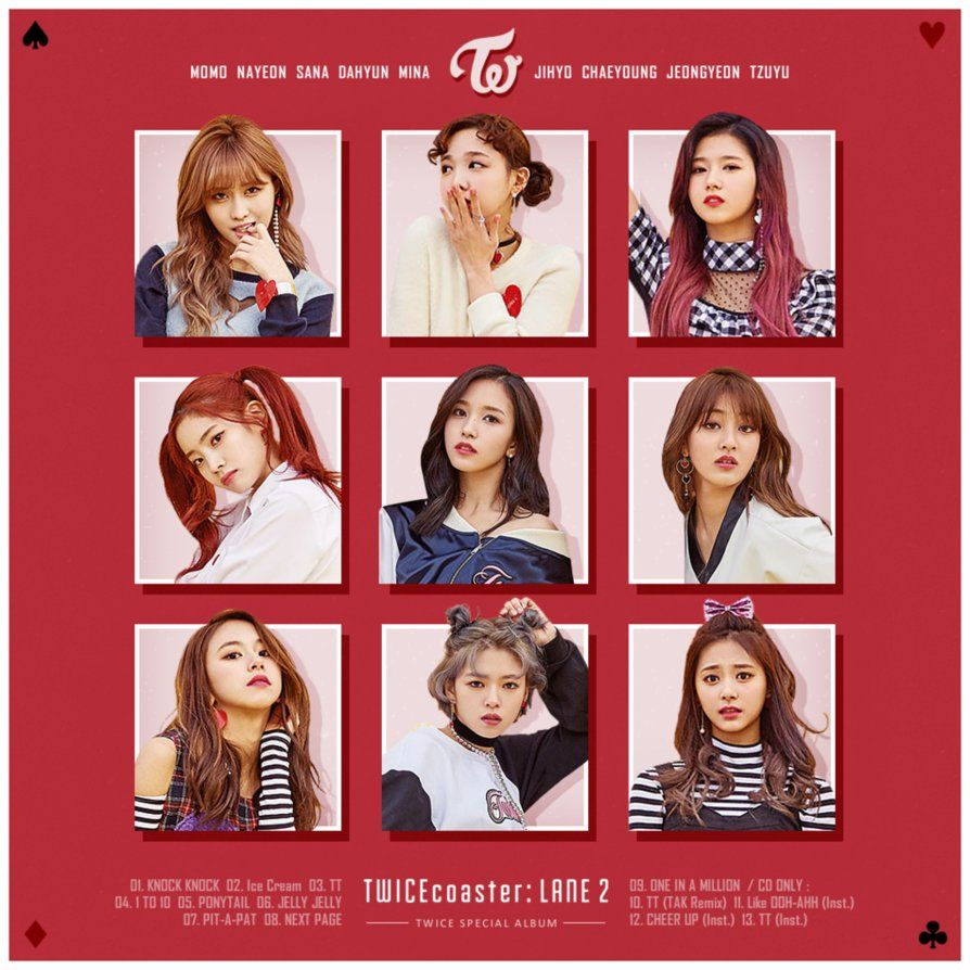 Twice Twicecoaster Lane 2 By Tsukinofleur Twice Capas De