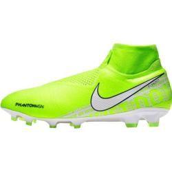 Photo of Nike Herren Fußballschuhe Rasen Phantom Vision Elite Dynamic Fit Fg, Größe 45 in Volt/white-barely V