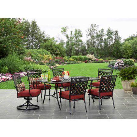 Better Homes and Gardens Dawn Hill 7pc Dining Set - Walmart.com