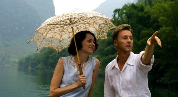 Naomi Watts as Kitty and Edward Norton as Dr. Walter Fane in The Painted Veil