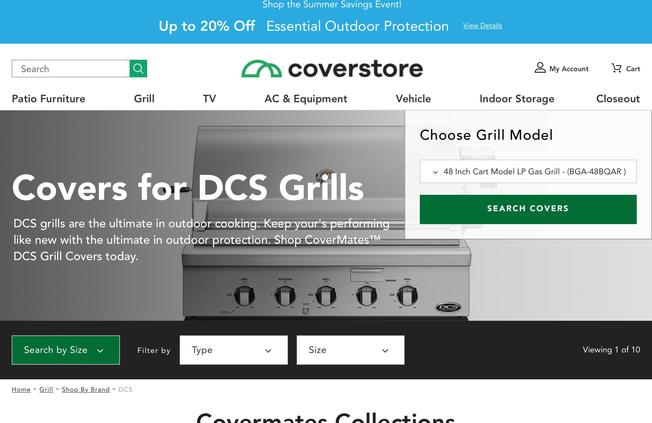Https Www The Cover Store Com Grill Covers Shop By Grill Brand Dcs