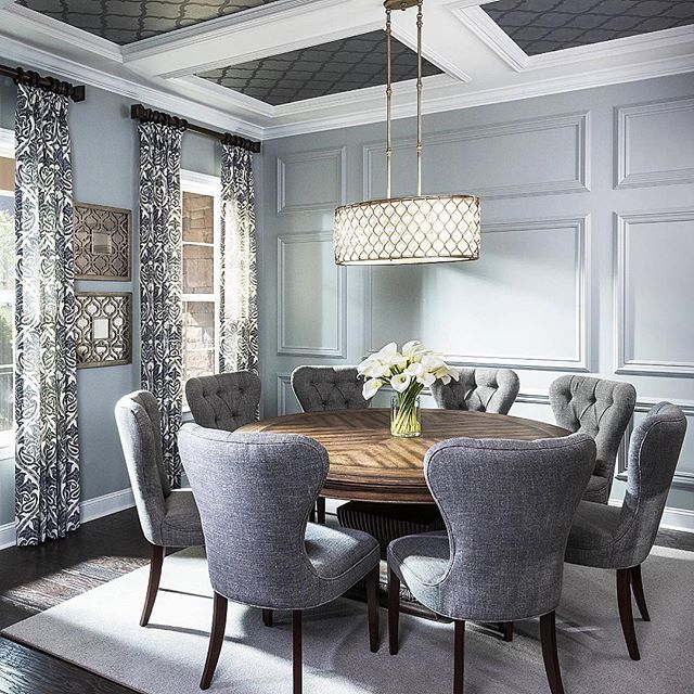 Make A Dining Room Table: Instagram Post By Interior Design