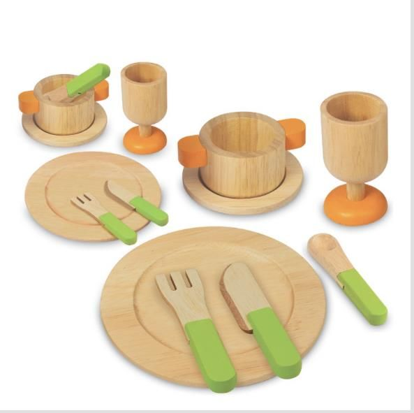Nice Letu0027s Have A Dinner Party With These Beautiful Wooden Toys From Artiwood!  This Delightful Dining Set Will Be A Great Complement To Any Kidsu0027 Toy  Kitchen!