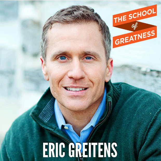 PODCAST How to Fall in Love with Pain: The Key to Resiliency and Success Eric Greitens on The School of Greatness