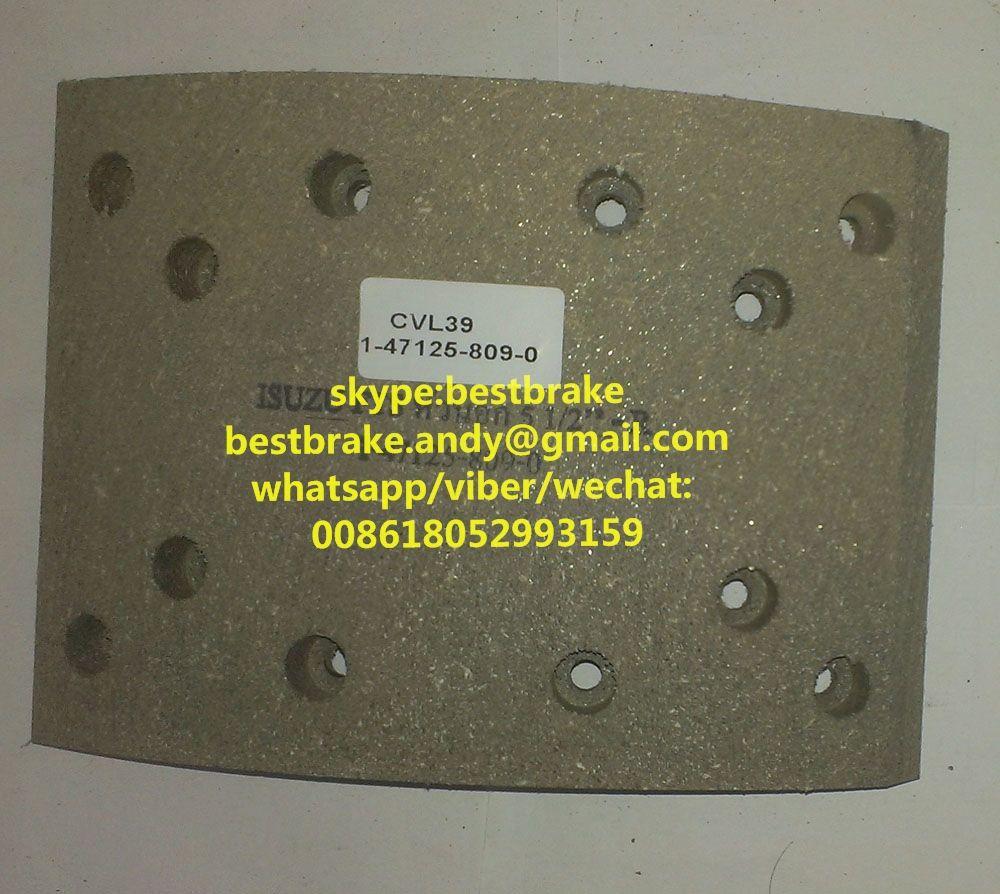 Compact brake lining cv brake lining pinterest