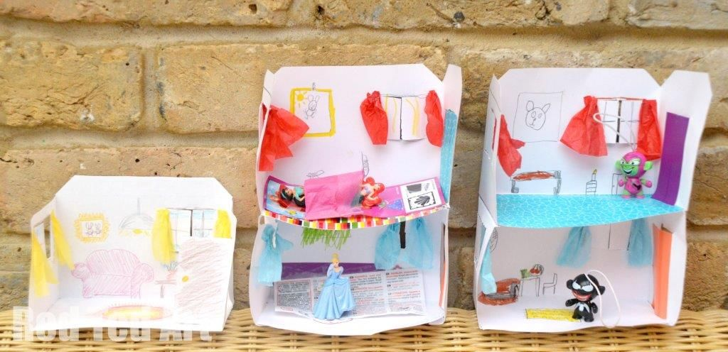 Design Your Own Paper House U2013 Add Or Rooms, Decorate, Draw, Play