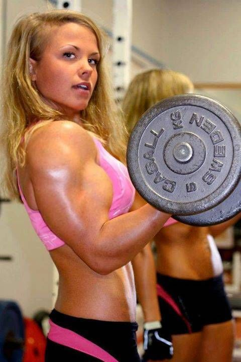 babes with muscle