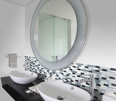 carrelage adhsif pour refaire sa salle de bain smart tiles - Recouvrir Du Carrelage De Salle De Bain