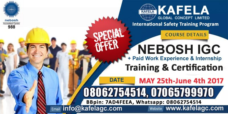 What is NEBOSH IGC and how it can change your life The