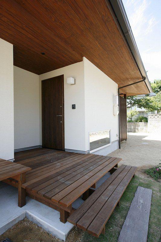 玄関アプローチの階段をdiy デザインや作り方の参考集 安成工務店