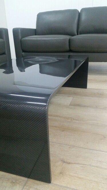 Carbon Fiber Coffee Table Modern Style Carbon Fiber Carbon