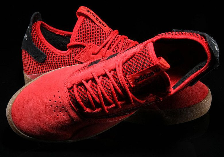 new style 7c91e d1a51 The adidas Skateboarding 3ST.001 Releases In Scarlett Red