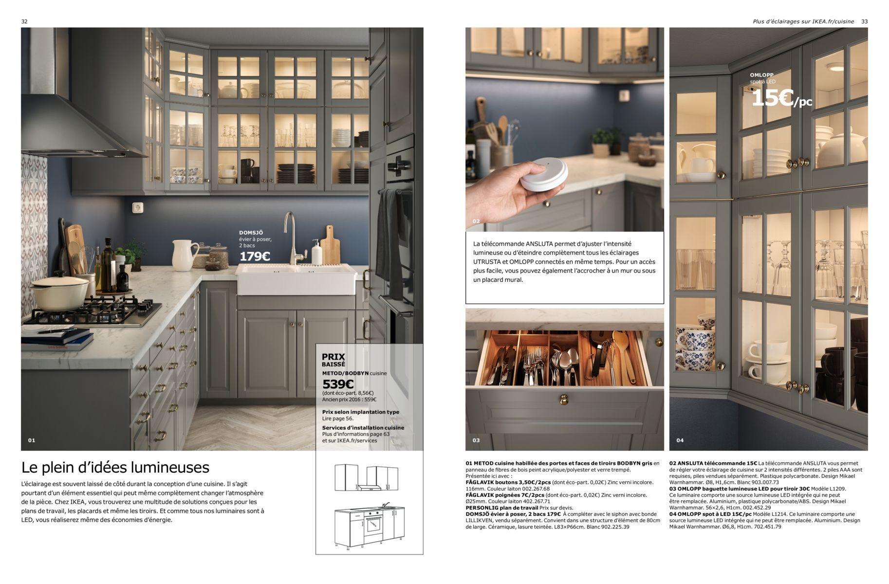 Brochure Cuisines Ikea 2017 Plan Cuisine Designs De Petite Cuisine Et Banquette Cuisine