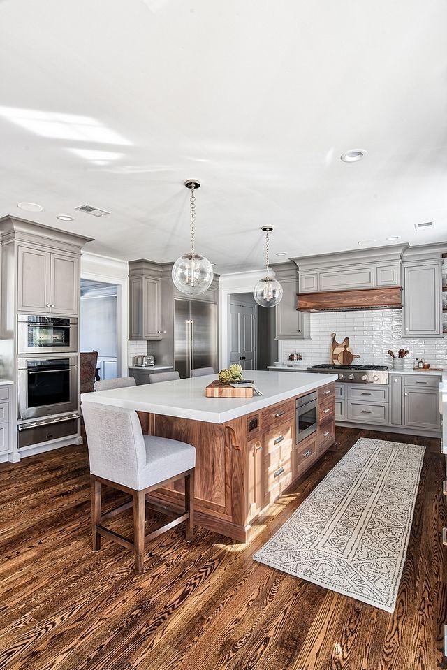 Grey Kitchen Design (Home Bunch - An Interior Design & Luxury Homes Blog) #greykitcheninterior