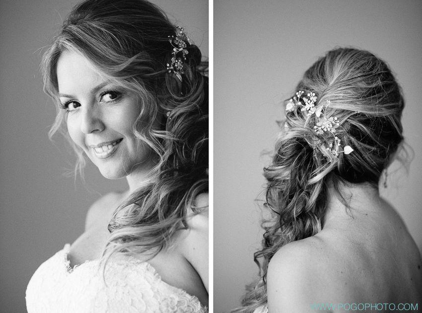 side swept hair wedding | Lisa Marie Owens Hair Salon, Palm Beach ...