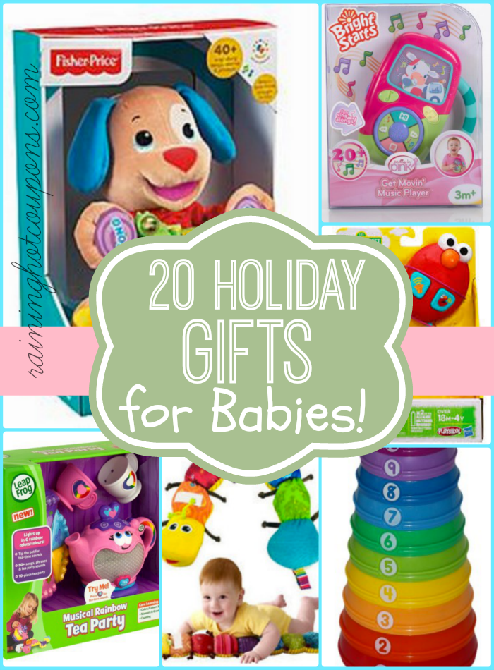 20 Holiday Gift For Babies Awesome Deals Baby Christmas Gifts Baby S First Christmas Gifts Baby Gifts