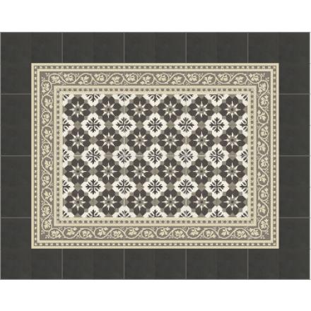 Nr. 51090/150 - 15x15x1,6 cm, Zementmosaikplatte aus der 15x15er Serie in drei Farben