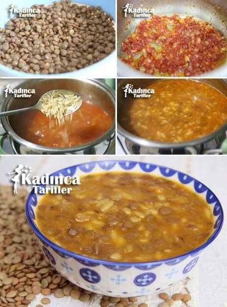 Arpa Şehriyeli Sebze Çorbası Tarifi