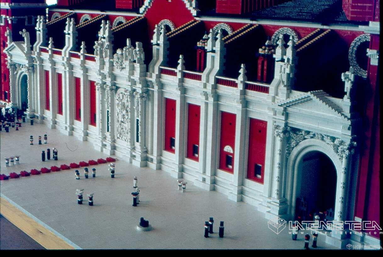 Fachada de la Basílica de Zaragoza en TENTE!!!!